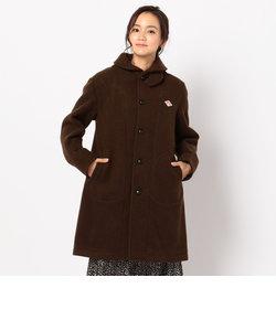 【DANTON/ダントン】WOOL MOSEER LONG 丸衿フード付コート (JD-8457 WOM)