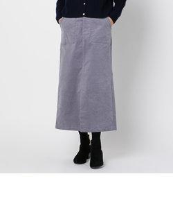 コーデュロイロングスカート