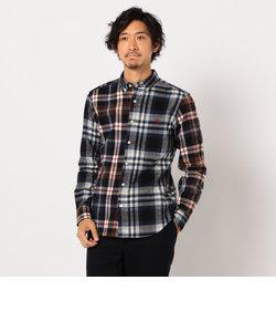 ASTLAD ネルシャツ フランネルシャツ チェックシャツ