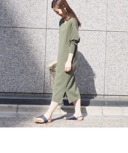 【WEB限定】三角袖ニットワンピース