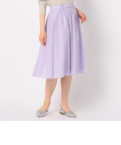 【WEB限定カラーあり】 Gigi 綿シルクローンスカート