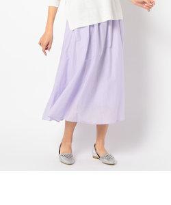 【WEB限定】【Gigi】綿シルクロングスカート