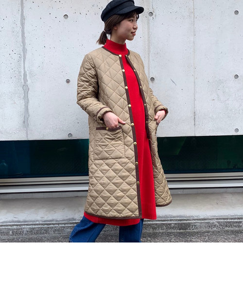 【Traditional Weatherwear】<fredy別注>ARKLYLONGキルティング