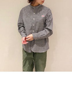 【DANTON/ダントン】 バンドカラーシャツ SHIRTS TRD #JD-3606 TRD