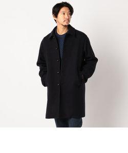 Wool Blend Jersey ステンカラーコート