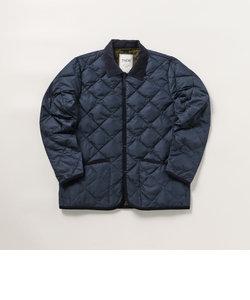 【TAION/タイオン】CITY LINE PIPING COLLARED JKT キルティングジャケット #TAION-109CI