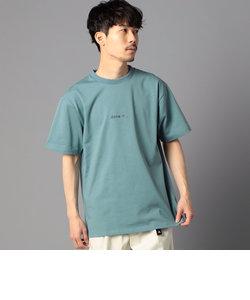 ミニロゴTシャツ バックプリント ビッグシルエット