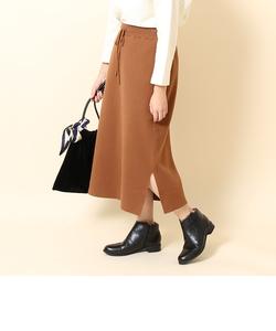 【新色追加・追加生産・WEB限定】ミラノリブニットタイトスカート
