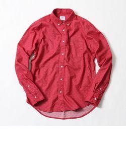 ドットジャガードボタンダウンシャツ