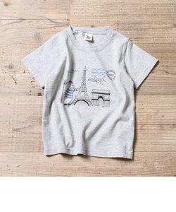 【coen キッズ / ジュニア】PARKIES(パーキーズ)エアプリントTシャツ(100~150cm)