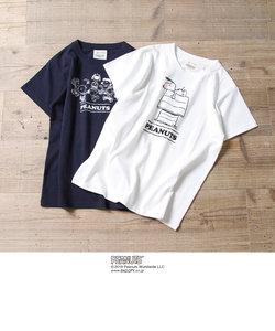 【ウィメンズ】クリニクラウン SNOOPY (スヌーピー) TEE (Tシャツ)