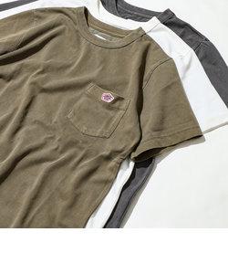 ピグメントダイワッペンポケットTシャツ