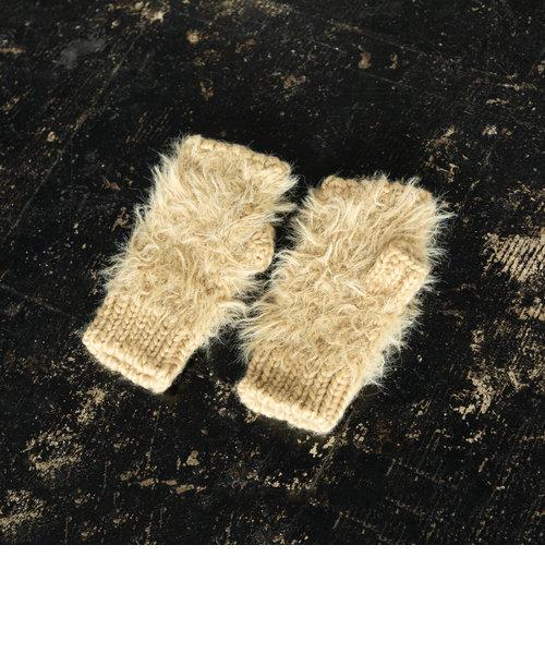 シャギーフィンガーレスグローブ(手袋)