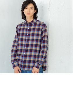 ブロックチェックネルシャツ