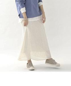 レースマキシスカート