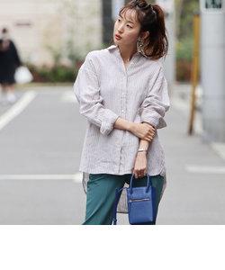 フレンチリネンシャツ#