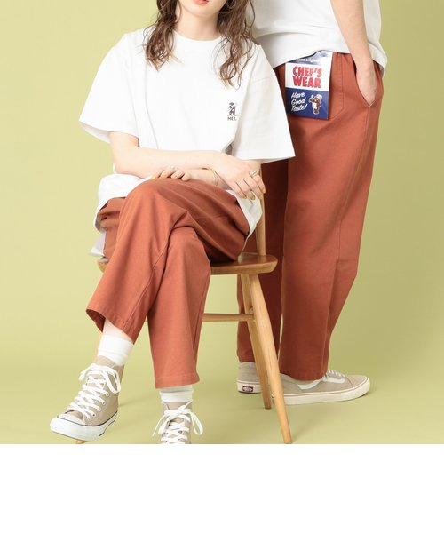 【女性にもオススメ】シェフパンツ