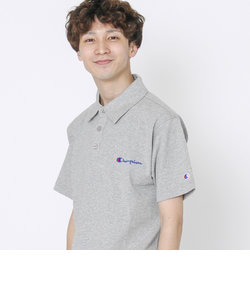 【女性にもオススメ】【WEB限定】Champion(チャンピオン)ベーシックロゴ刺繍ポロシャツ(C3-P306)