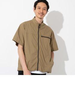 ジップスタンドカラーシャツ(シャウター)