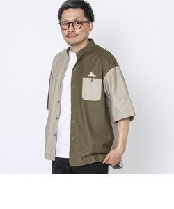 KELTY(ケルティ)別注バンドカラー半袖シャツ(その他⇒WEB限定カラー)