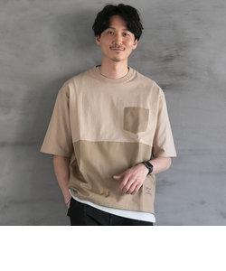リップストップキリカエハーフスリーブTシャツ