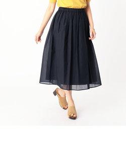 ミモレ丈 ギャザースカート