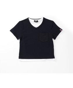 VネックセットTシャツ