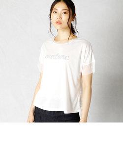 スパンコール ロゴTシャツ