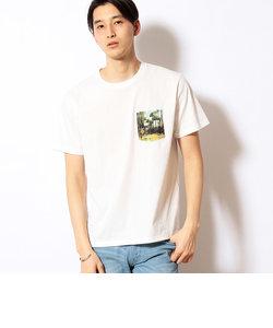 フォトプリント ポケット半袖Tシャツ