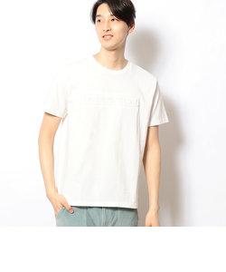 エンボス加工 半袖Tシャツ