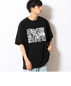 フォトプリント ビッグTシャツ