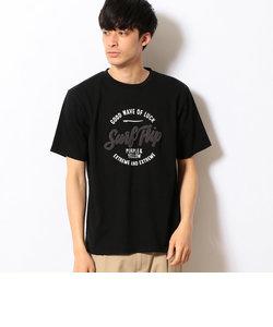 さがら刺繍 半袖Tシャツ