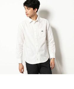 《コットン》ワンポイント オックス シャツ
