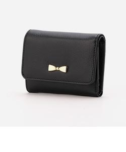 【モノコムサ】かわいいコンパクト3つ折り財布