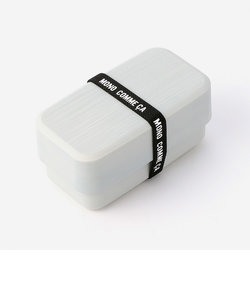 【モノコムサ】塗り長角2段弁当箱小