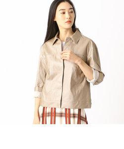 2WAY リネンシャツジャケット