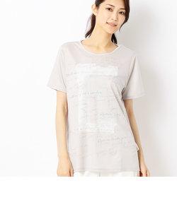 スパンコール刺繍Tシャツ