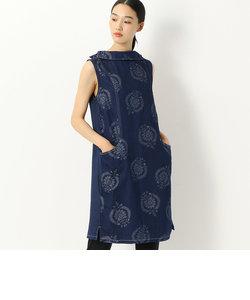 デニムジャガードドレス