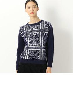 プリミティブ柄セーター