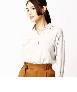 ソアパールサテンシャツ