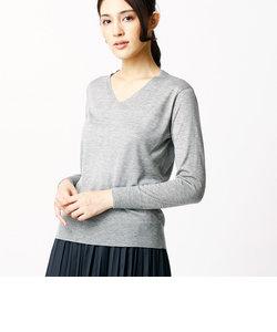ベーシックVネックセーター