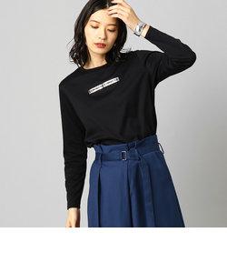 ロゴ ロング Tシャツ