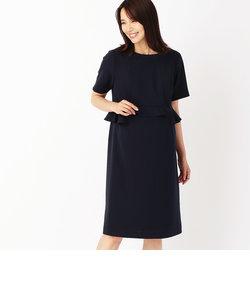 ぺプラムドレス(マタニティ)