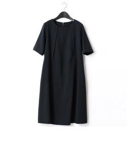 ウエスト切替ドレス(マタニティ)