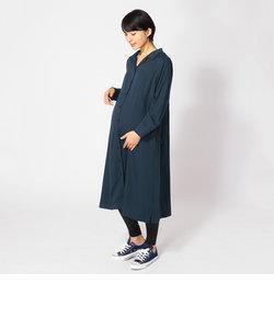 ロングシャツドレス(マタニティ)