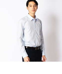人気の市松柄サテンシャツ