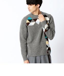 ミドルゲージカラーセーター