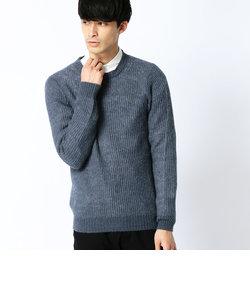 両畦シャギーセーター