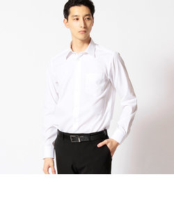 形状安定コットンブロードシャツ