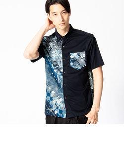 「桜ぼかし」ボタンダウンシャツ
